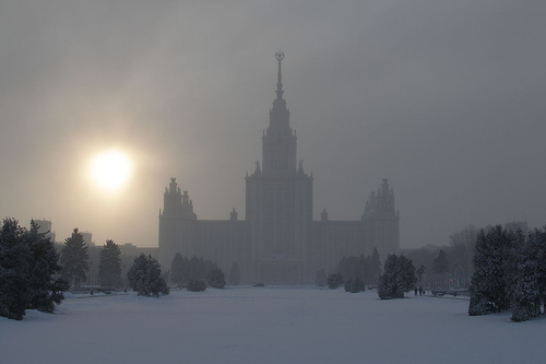 Moscow State University - Photo by Argenberg@FlickR