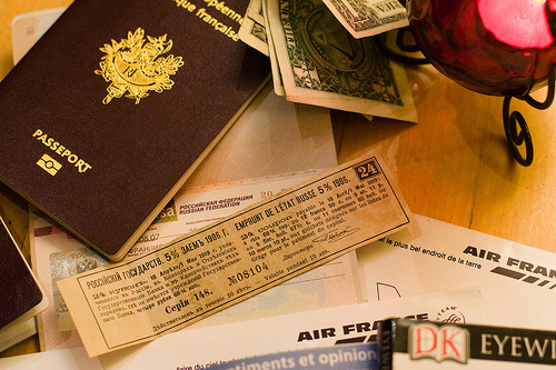 Passport and visa / photo by eole@FlickR