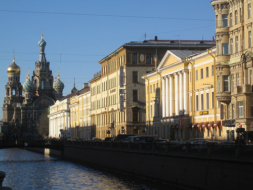 View on the St. Petersburg Canal / Photo by Ezioman@FlickR
