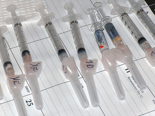 Syringes / photo by kb-a@FlickR