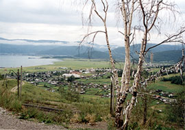 Slyudyanka village on Baikal lake