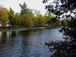 Chistye Ponds area Moscow