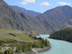 Katun river, Altay mountains