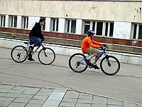 Bikers in Irkutsk