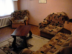 Short-term apartment in Novosibirsk